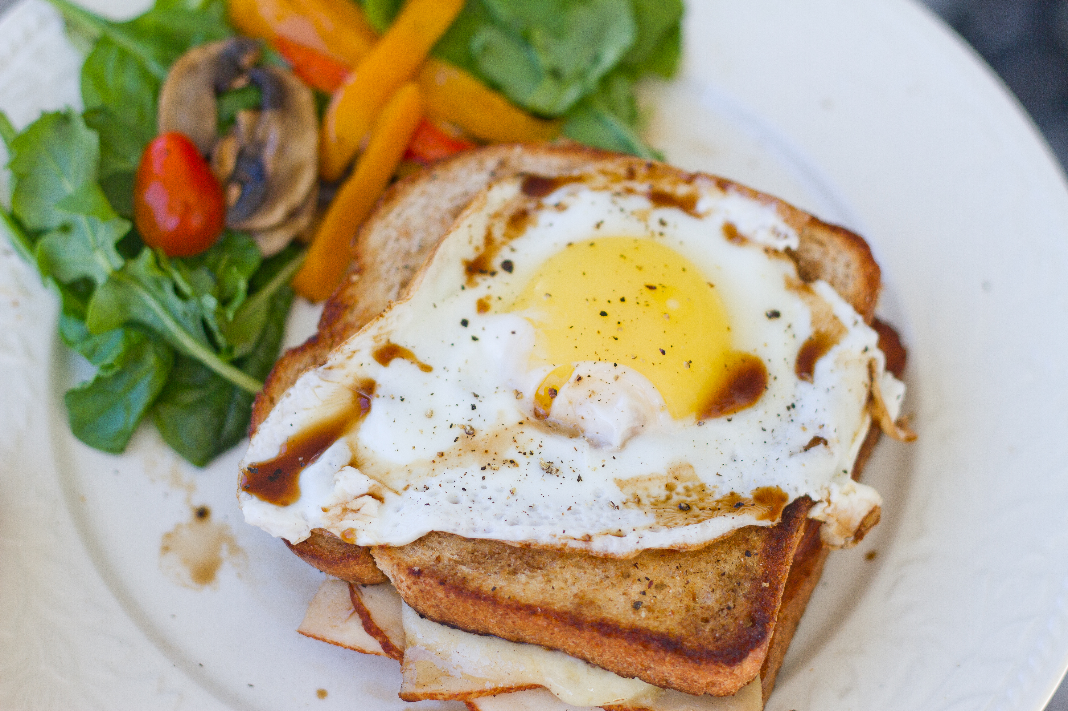 Gizzi Erskine's Eight Minute 'cheat's' Croque Madame ...