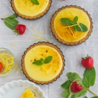 Tartlette Au Citron (Lemon Tartlette)