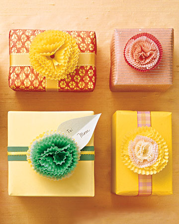Cupcake Flower Wrap