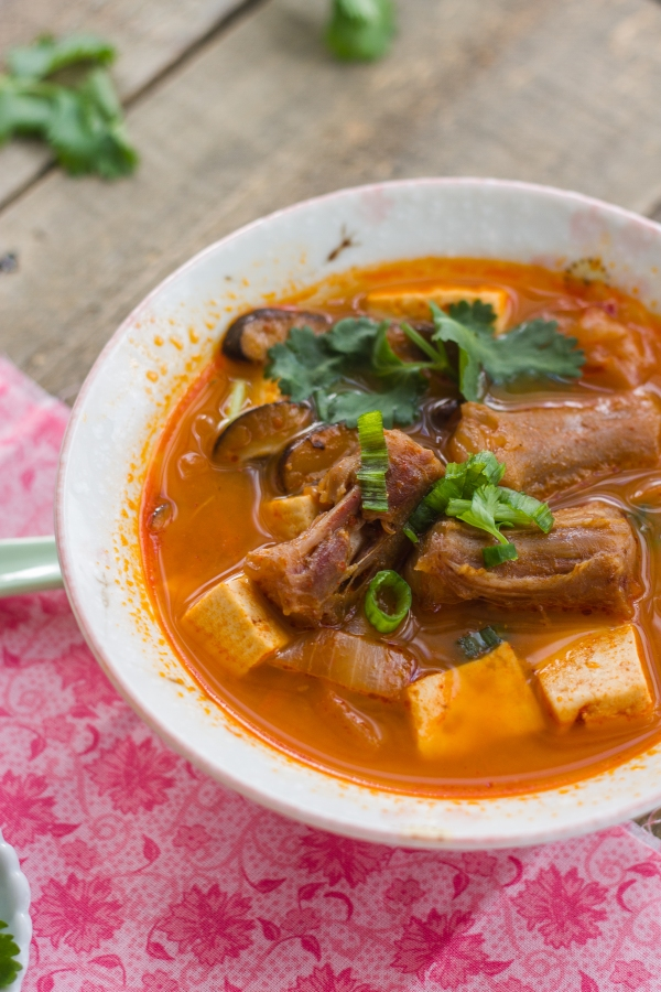 Oxtail Spicy Tofu Soup-10