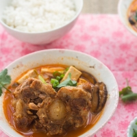 Oxtail Spicy Tofu Soup