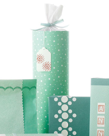 Tissue Paper Bottle Wrap