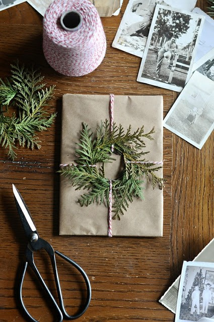 Natural Wreath and Twine