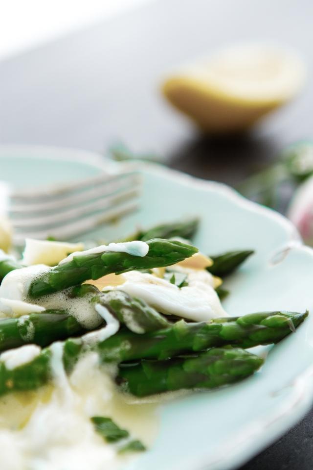 Asparagus & Quail Egg Salad
