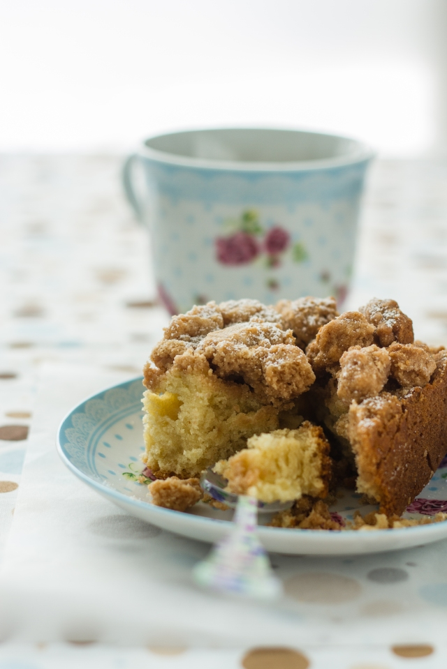 Classic Coffee Crumbly Cake