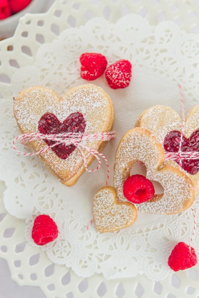 My Heart Goes Nut Cookies