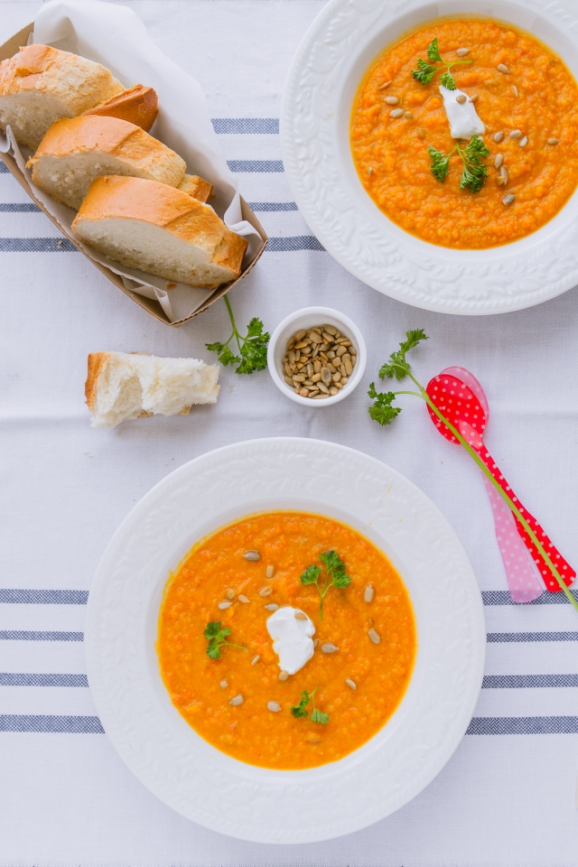 Sweet Vegetables & Squash Soup