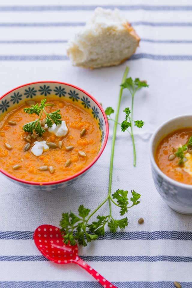 Sweet Vegetables & Squash Soup