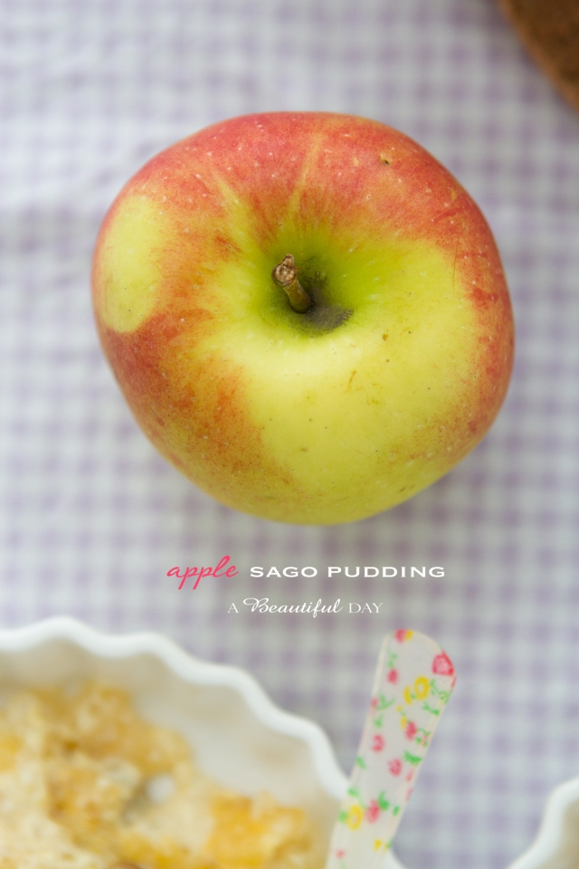 Apple Sago Pudding