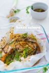 Baked Salmon with Citrus Dressing