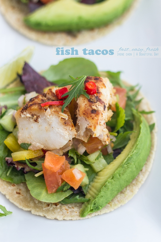 Fish tacos a beautiful day for Fish tacos cod