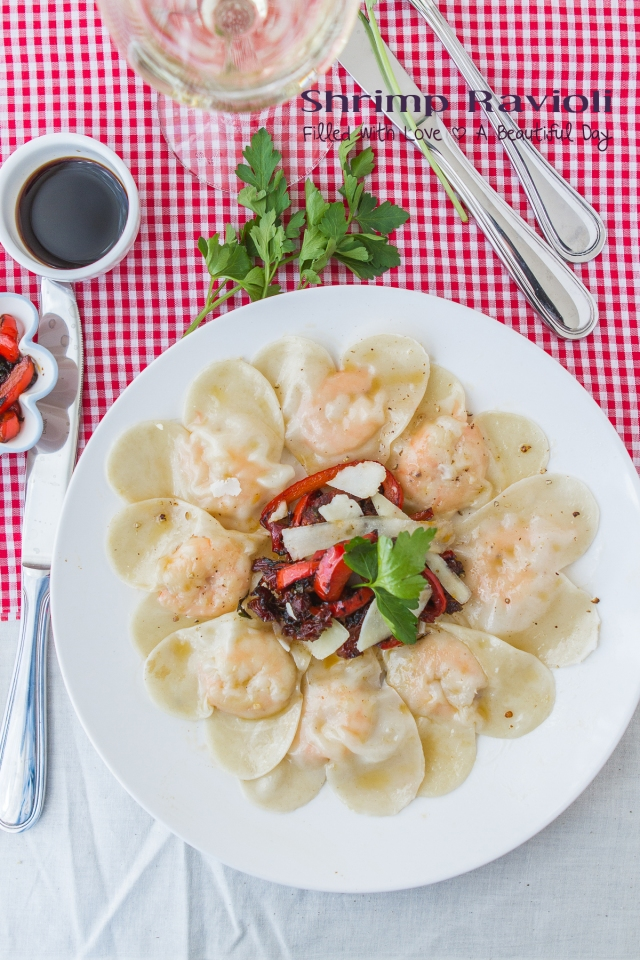 Love Shrimp Ravioli
