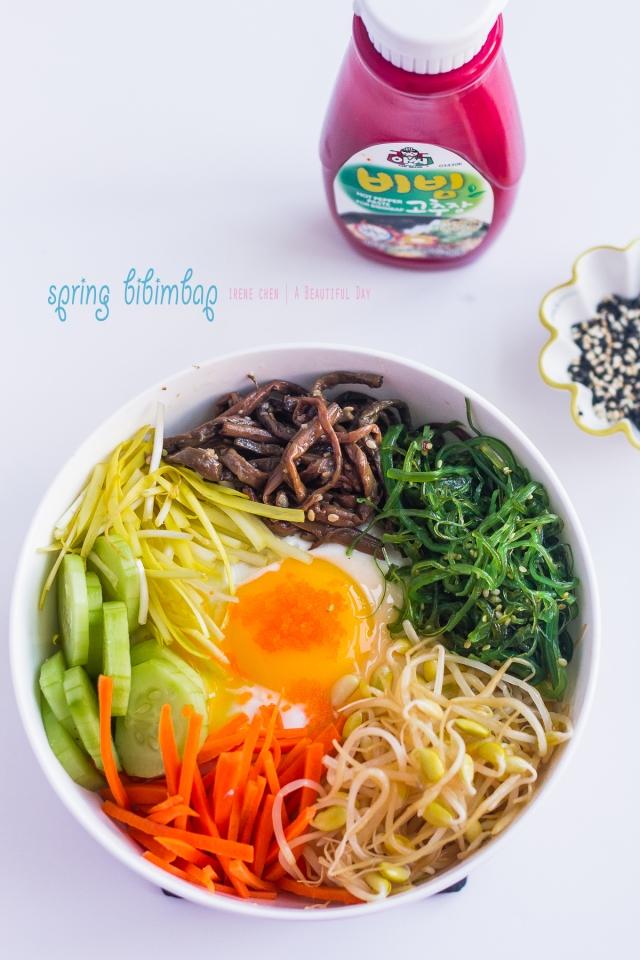 Spring Bibimbap