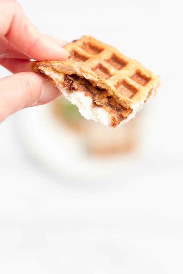 3 Minute Waffle Sandwich | A Beautiful Day