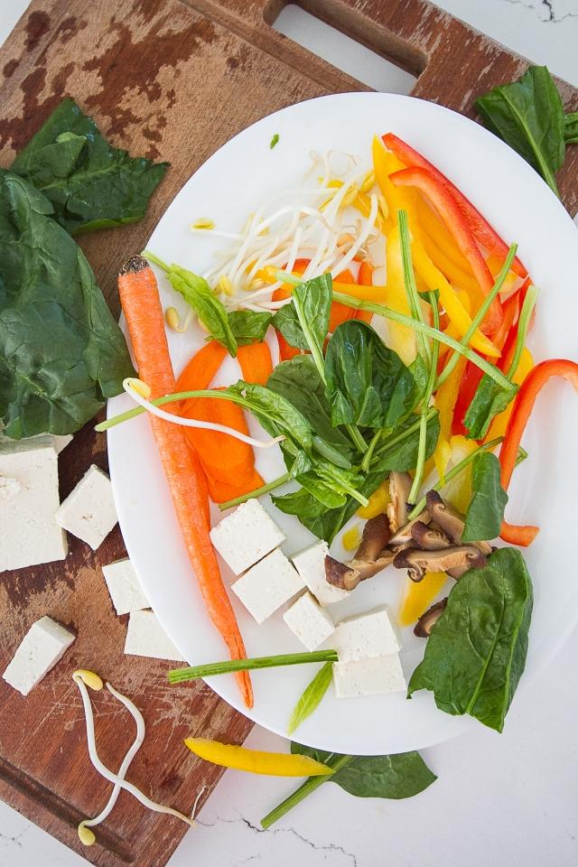 Quinoa Vegan Bibimbap 111215-2