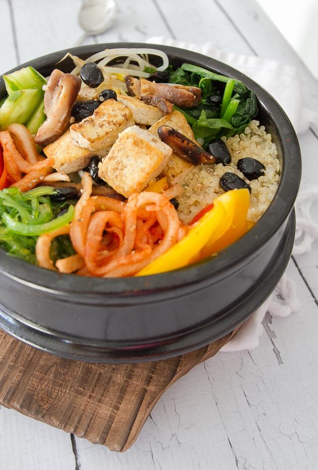 Quinoa Vegan Bibimbap 111215-7