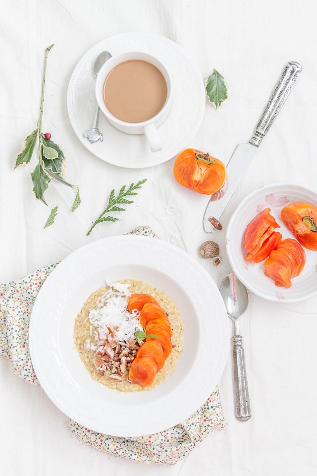 Coconut Pumpkin Oatmeal-3
